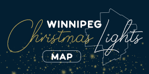Winnipeg Christmas lights map