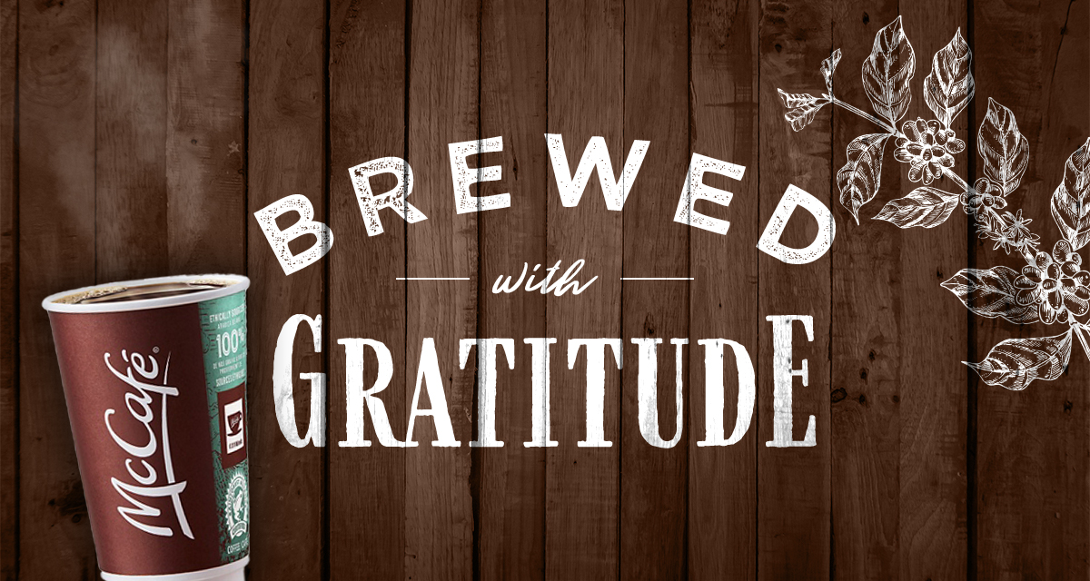 Brewed With Gratitude