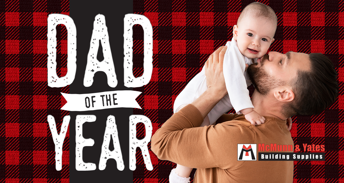 dad of the year slider
