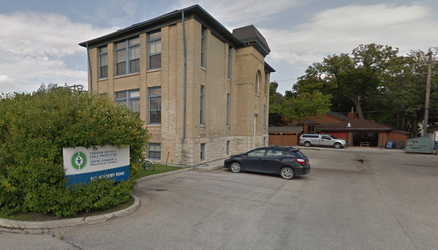 61 Academy Road is the current location of the RCMP's Canadian Centre for Child Protection.
