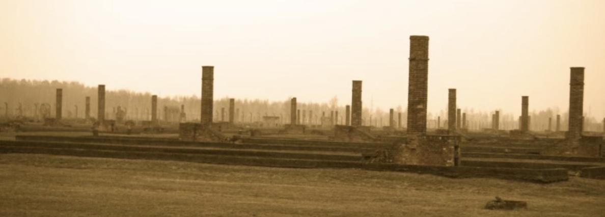 Photo taken by Ruth Denton of Birkenau.