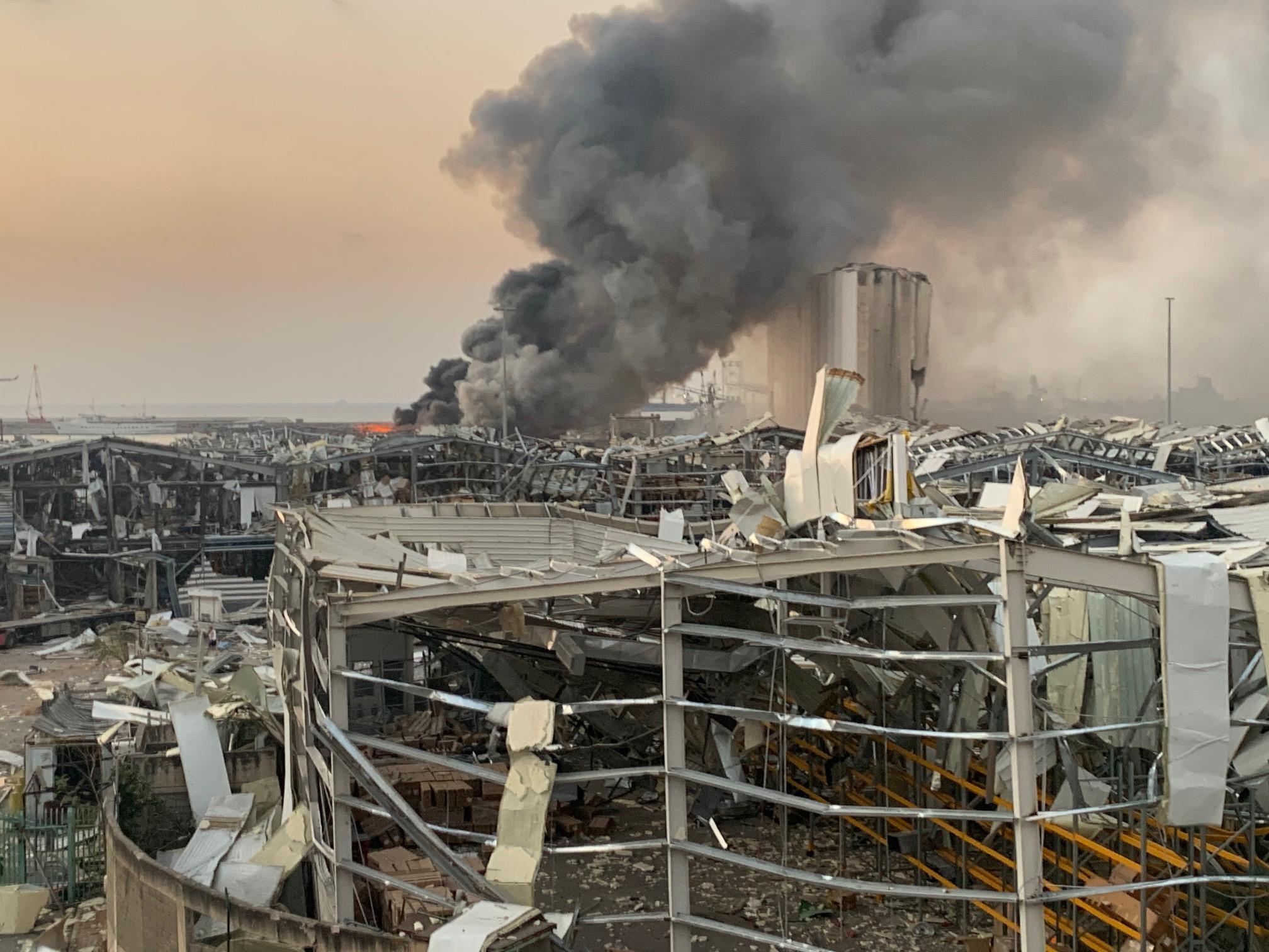 Beirut explosion.