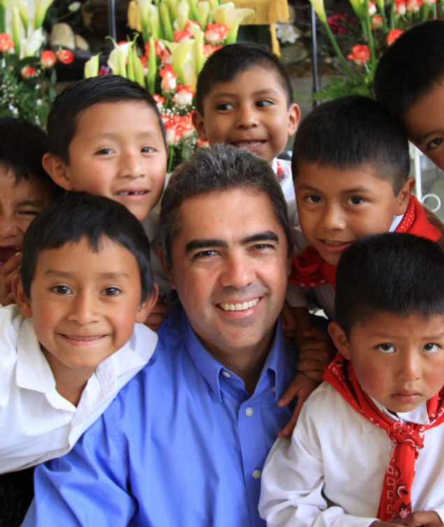 Jose Prem, Executive Director of Child Care International in Guatemala, the country he was born in.