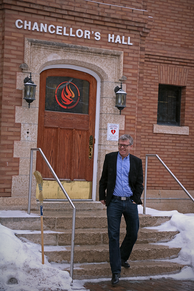 Raymond Frogner works for the National Centre of Truth and Reconciliation, which is located in Winnipeg.