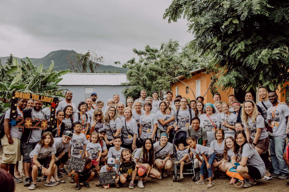 Shine the Light crew on the January 2020 missions trip.