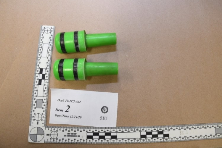 ARWEN projectiles courtesy of the SIU.
