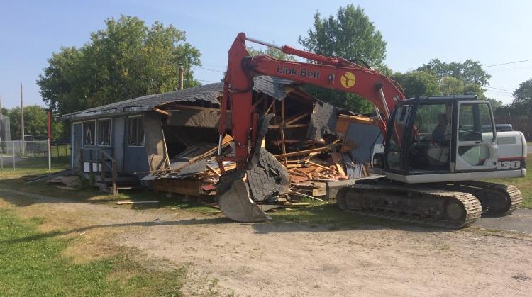 Demolition of Central