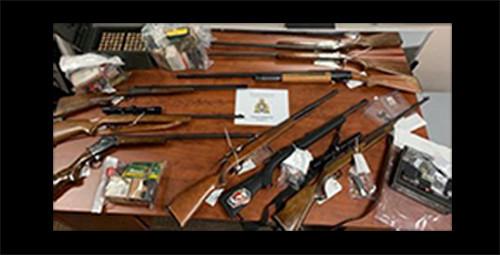 rcmp seized firearms