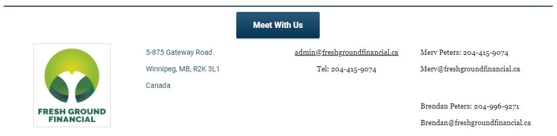 fresh ground financial contact info