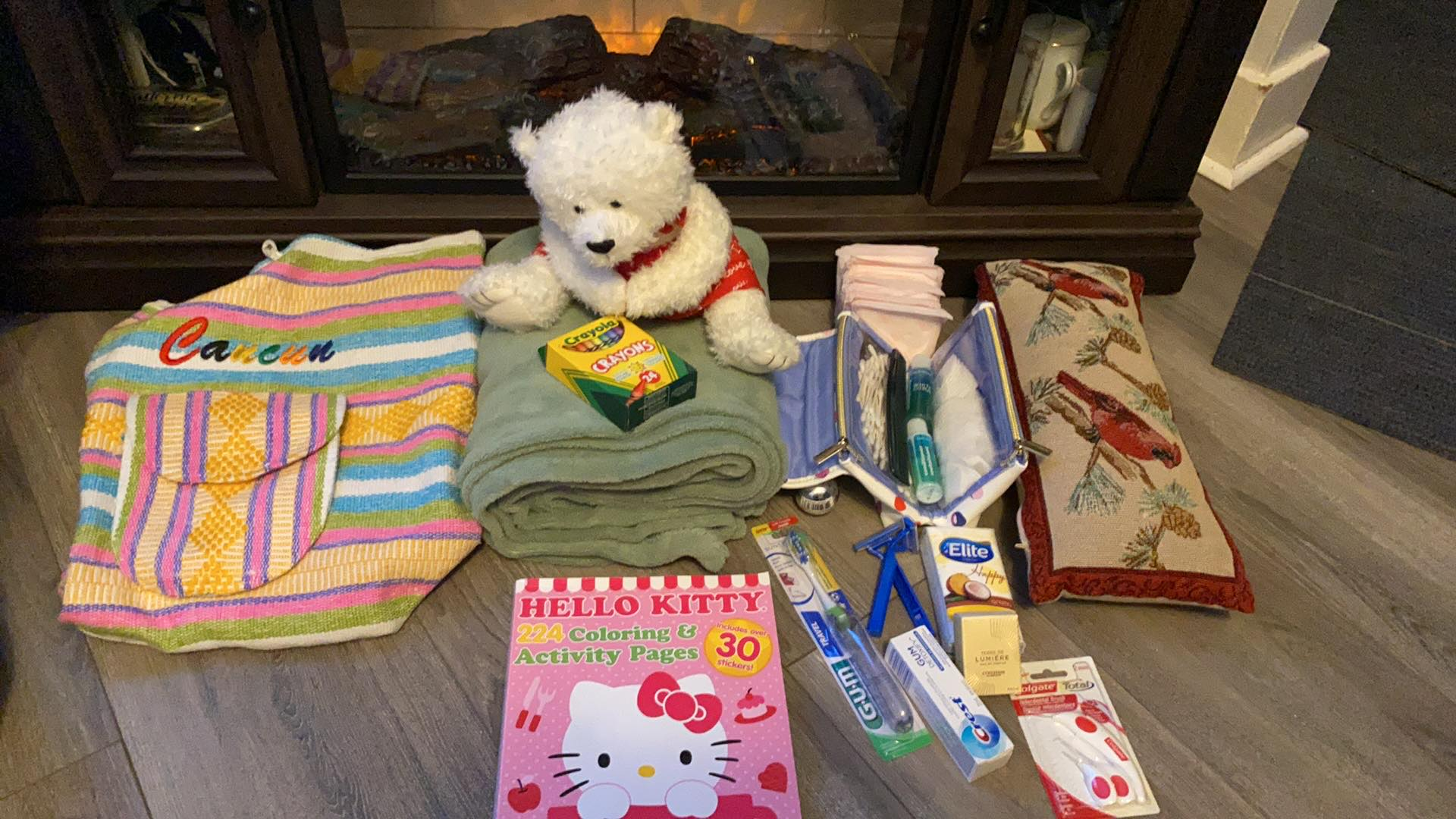 Items for donation. (Supplied)